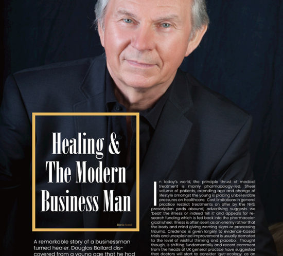 HEALING & THE MODERN BUSINESSMAN (SOVEREIGN MAGAZINE / 11 September 2019)