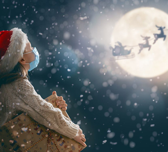 The biggest test of our resilience: A socially distanced Santa